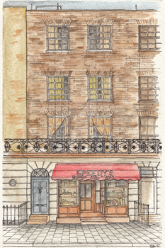 221b Elevation by ChickenfoxStudios