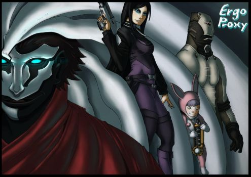 Ergo Proxy - What's your reason detere by Hunter-Wolf