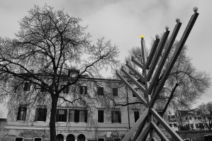 Menorah of the Ghetto by dcheeky