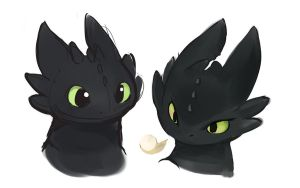 Toothless Face by Ende26