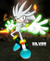 Silver the Time Traveler by anotherblazehedgehog