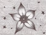 Flower Doodle by r-o-s-a-n-n-a