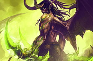Illidan Stormrage by SoMini