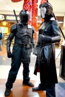 Cobra Commander and Snake Eyes @TAGCOM2013 - Day 3 by akagii2004
