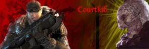 Courtkid sig Gears of War 2 by courtkid