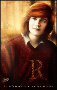 Ron Weasley by Queen-Uriel