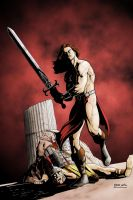 CONAN COLORED by pfab