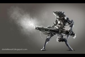 Doodle sci fi by Danielllee