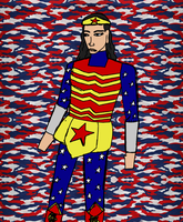 Wonder Woman as a Modern Soldier by SEwing0109