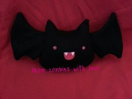 Batsy The Baby Bat Plush by fromzombieswithlove