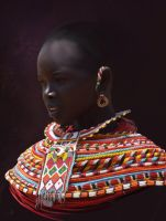 African Woman by SelaShaik