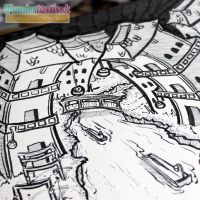 Inktober - City Sneak Peak #2 by Wundertastisch