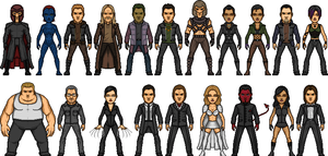 X-Men Villain Movieverse by MicroManED
