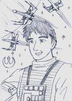 Wedge Antilles by doofusofdestiny