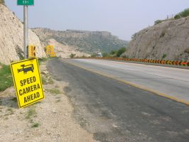 speed camera ahead by zamir