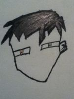 My Attempt at drawing..Me -.- by ZANe-The-Damned