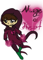 Mage of Heart by spiralingdragon