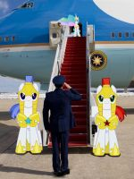 Air Force One - Princess Celestia by normanb88