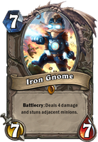 Iron Gnome Card by AbelVera