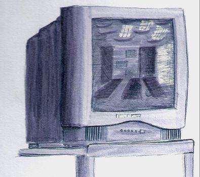 Television rots your brain by lickurlips