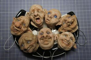 Some heads by MarylinFill
