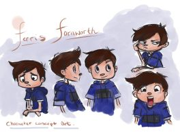 Ferris expressions by Niina-Bean