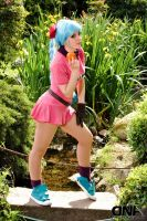 bulma dragon ball cosplay by neliiell