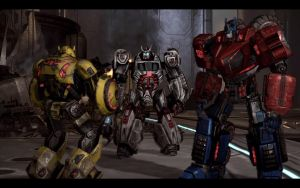 War For Cybertron Autobots by Homicide-Crabs