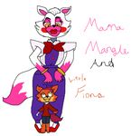 (Entry) Mama Mangle And Little Fio (Fiona) by Fluttershy57911aj