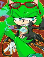 SCOURGE THE HEDGEHOG by C2ndy2c1d