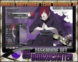 Nagato Uzumaki Theme Windows XP by Danrockster