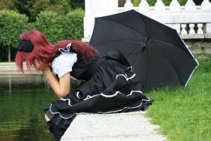 Gothic Lolita 8 by Kechake-stock