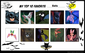 My Favorite Bats by KessieLou