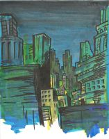 PAINT.THE CITY by kraola