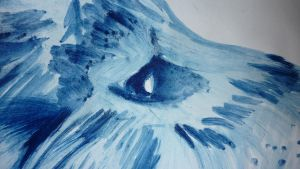 Blue Lion Detail by Peggy2011
