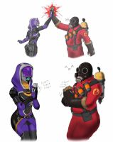 Mass Fortress Meet the pyro by spaceMAXmarine