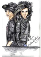 tokio hotel twins by sarath90