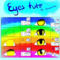 Tutorial - Eyes (remake) by Claireounette74