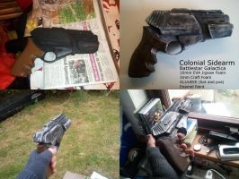 Colonial Sidearm Finished. by Turbogunz