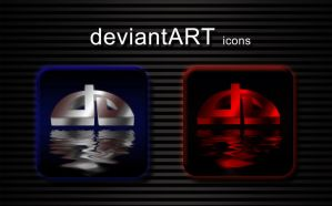 deviantArt icons by victor1410
