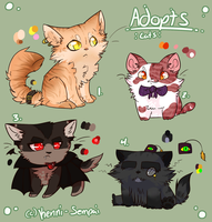 Adopt Sheet :Cats CLOSED: by Kenny-BS