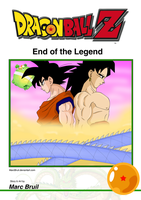 Dragonball Z - End of the Legend Cover by MarcBruil