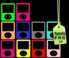 Pack Ipods png (RAR) by Carol05