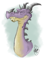 Happy Draggy by SharpDressedReptile
