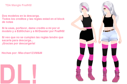 FnafHS Mangle dl! by mia-chan123