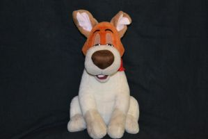 Dodger plush by fullmoonlupin