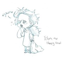Elijah the Sleepy Head by Chrissyissypoo19