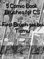 Comic Book Brushes by Tismu