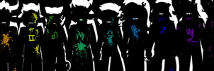 Homestuck: How they died... by PrinceOfBuckets