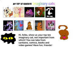 My Top Ten Favorite Cats by K-dog0202